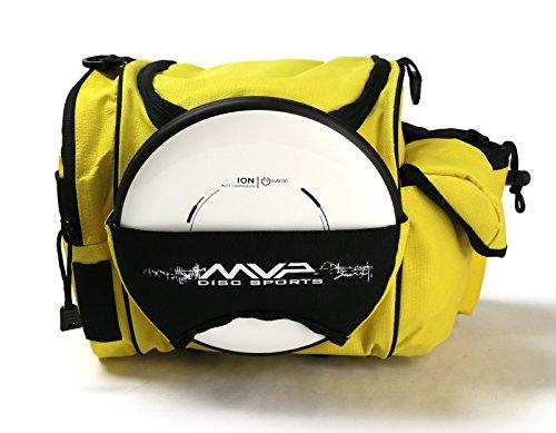 MVP Disc Sports MVP Beaker Competition Disc Golf Bag - Yellow by MVP Disc Sports