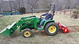 Farmer Helper 48'' Tiller Cat.I 3pt 20+hp (FH-TL125)~Adjustable SideShift & SlipClutchDriveline