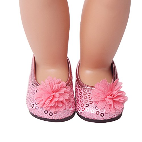 (Lywey Fashion Doll Shoes for 18 Inch American Girl Doll Accessory Toy Girl's Favor)
