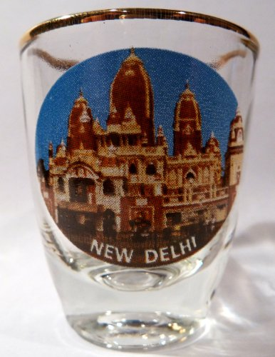 India New Delhi Shot Glass