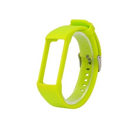 Lembeauty - Correa de Silicona Universal para Reloj Inteligente Polar A360 A730 GPS, Color Verde