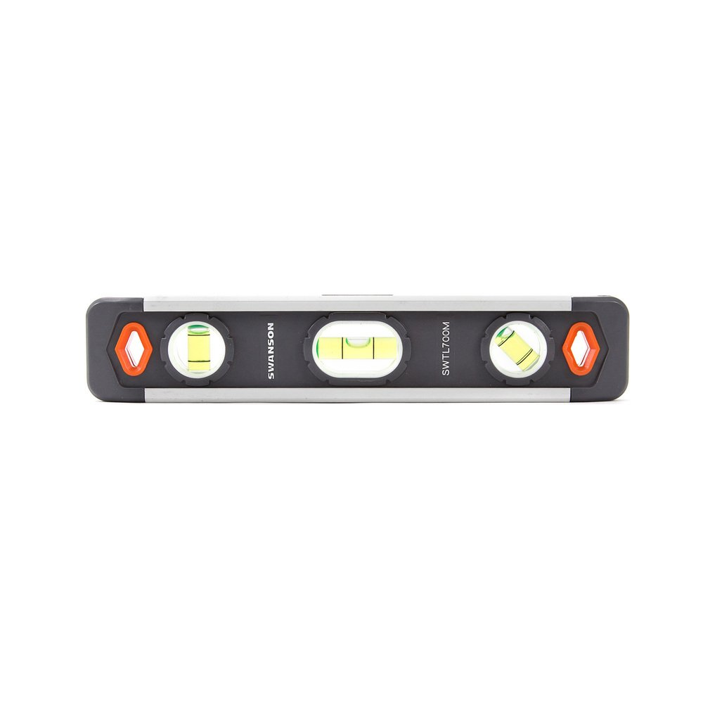 Swanson Tool Co, Inc. SWTL700M 9'' Swanson Magnetic Torpedo Level