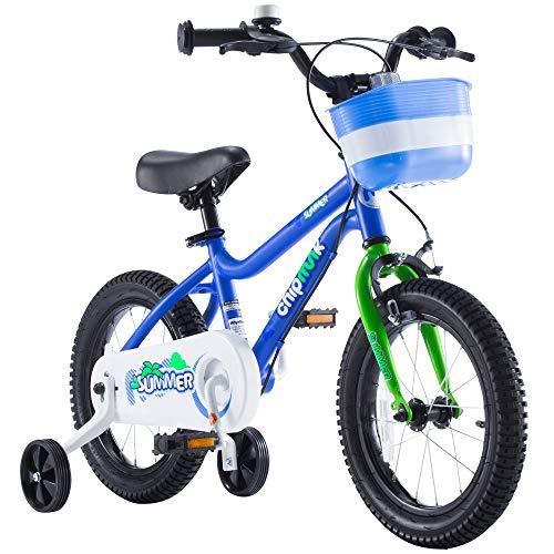 Girl Chipmunk - Chipmunk RoyalBaby MK Sports Kids Bike for Girls and Boys, Training Wheels for 12