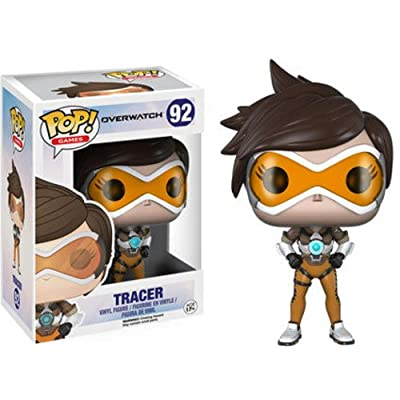 Funko Pop! Games: Overwatch Action Figure - Tracer: Funko Pop! Games:: Toys & Games