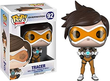 Funko Pop! Games: Overwatch Action Figure - Tracer