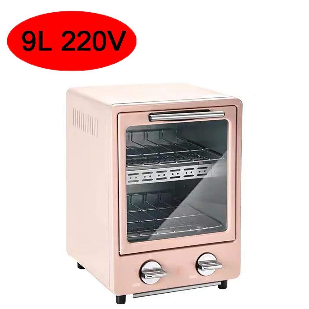 HIGHKAS Mini Horno multifunción Doble 9L, máquina Desayuno ...