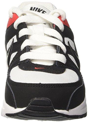Nike Kinder und Jugendliche Air Max Command Flex Ps Sneakers Elfenbein (White/black/max Orange)