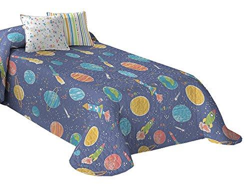Castilla Textil Planeta Copriletto Bedspread, 200 x 270 cm Castilla Textil 2