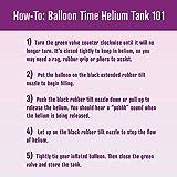 Balloon Time Disposable Helium Tank 14.9 - 50 Latex