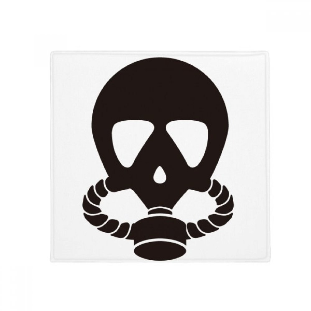 DIYthinker Human Skeleton Gas Mask Pollution Anti-Slip Floor Pet Mat Square Home Kitchen Door 80Cm Gift