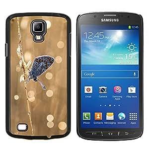 TECHCASE---Cubierta de la caja de protección para la piel dura ** Samsung Galaxy S4 Active i9295 ** --Mariposa Frosty