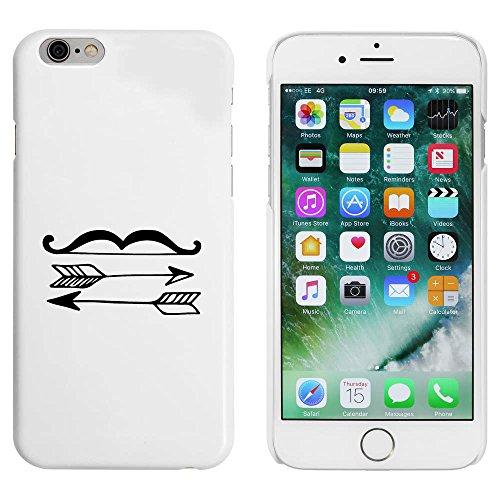 Blanc 'Arc et Flèches' étui / housse pour iPhone 6 & 6s (MC00052014)