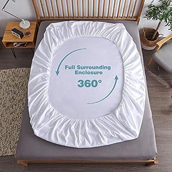 60x120cm Bedecor Tencel coprimaterasso Impermeabile,Proteggi Materasso Culla,Anallergico e antiacaro