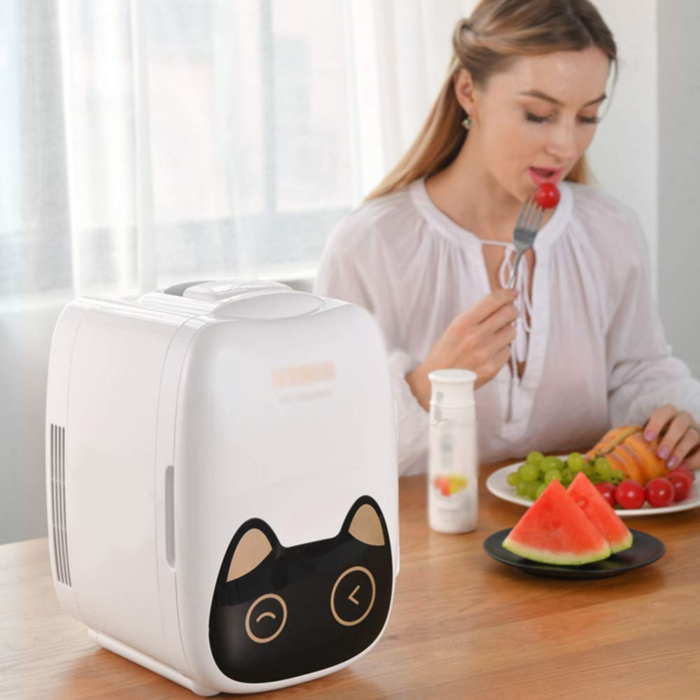 6L car Mini Refrigerator Electric Cooler Ultra Quiet Portable Cold and Warm 12V/220V by Car refrigerator (Image #2)