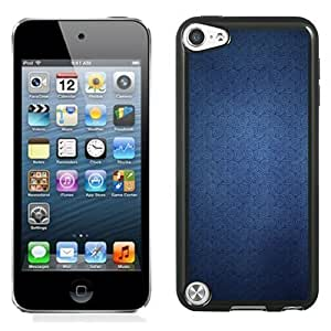 New Personalized Custom Designed For iPod Touch 5th Phone Case For Blue Swirl Patterns Phone Case Cover