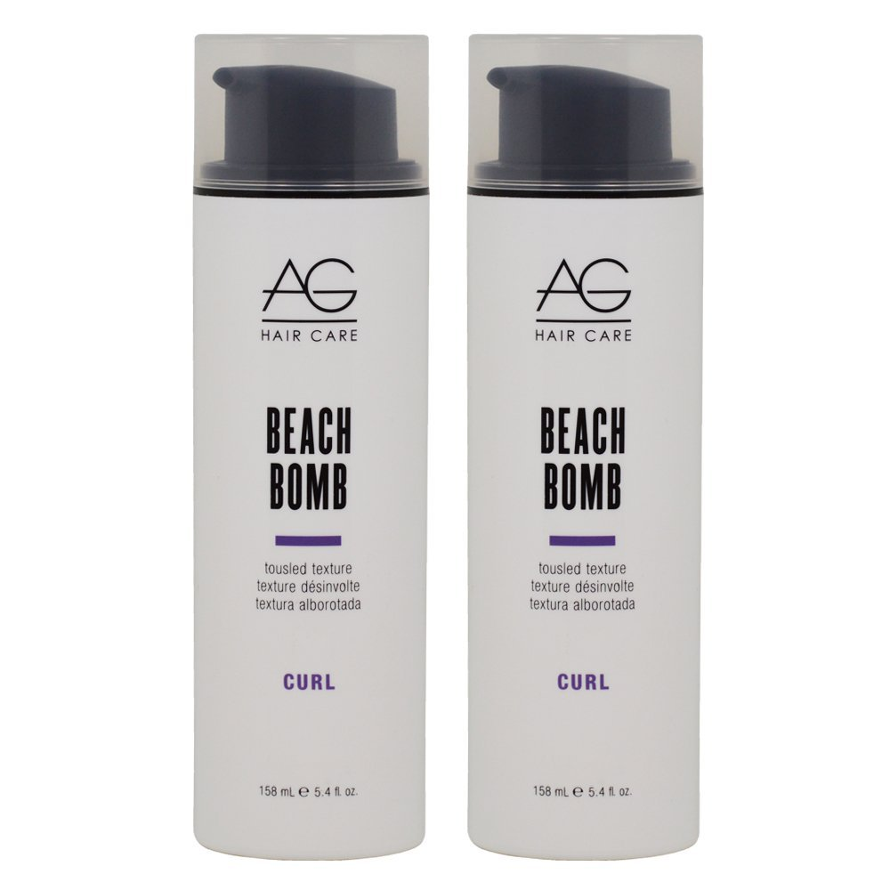 "AG Hair Curl Beach Bomb Tousled Texture 5.4oz ""Pack of 2"""