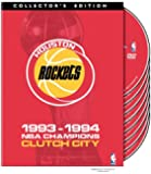 NBA Houston Rockets 1993-1994 Champions - Clutch City