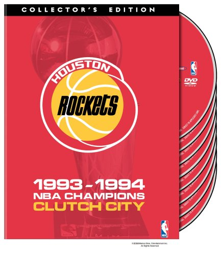 - NBA Houston Rockets 1993-1994 Champions - Clutch City