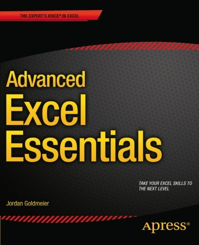 Advanced Excel Essentials by Apress