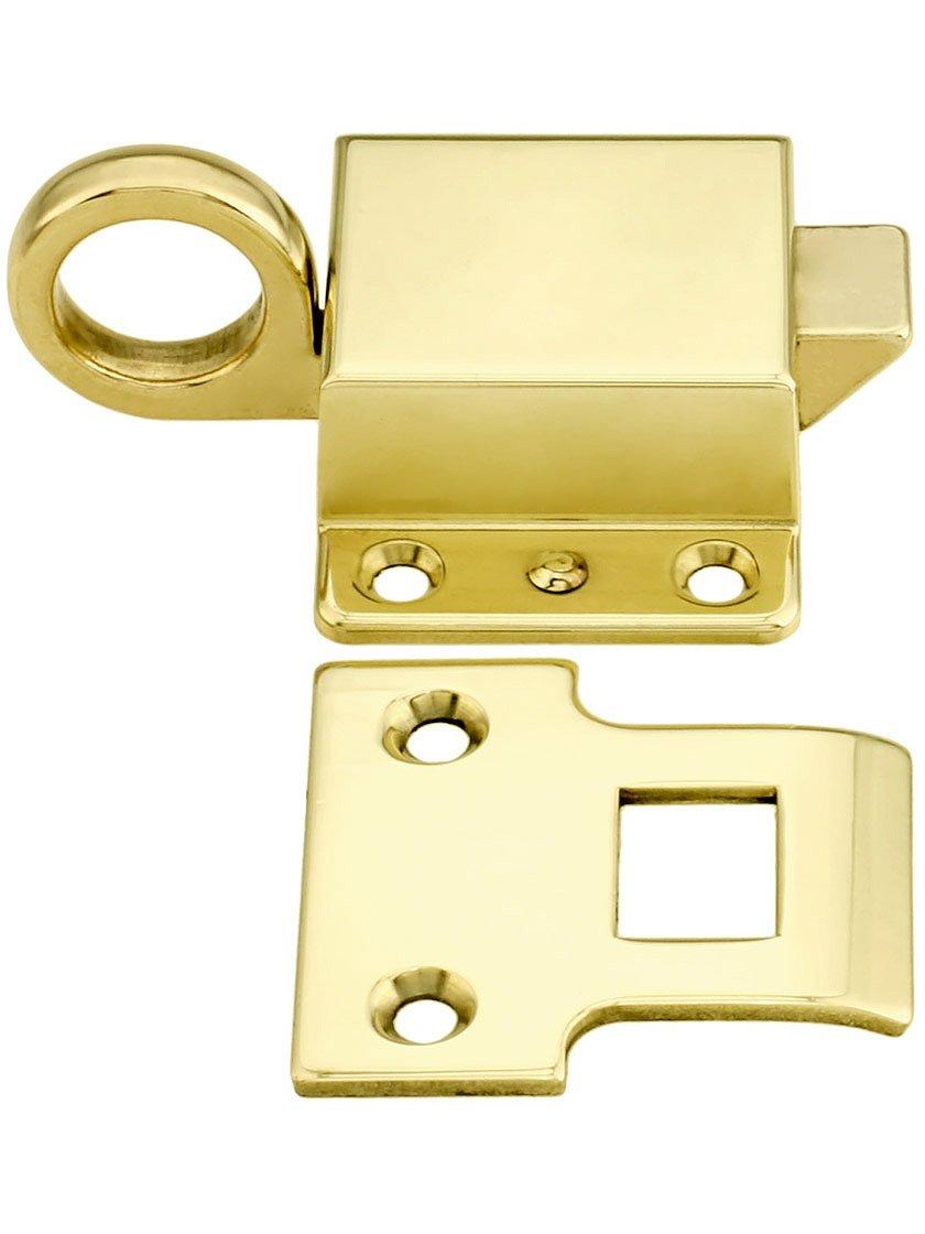 sc 1 st  Amazon.com & Solid Brass Transom Window Latch Polished Brass - - Amazon.com pezcame.com
