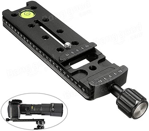 MITUHAKI NNR 140mm Multipurpose Nodal Slide Rail Quick Release Plate Clamp Bracket 1 x 140mm Nodal Slide Rail Quick Release Plate Photography /& Camera Acc Tripods /& Supports