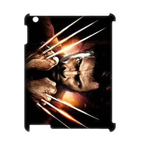 I-Cu-Le X Men Pattern 3D Case for iPad 2,3,4
