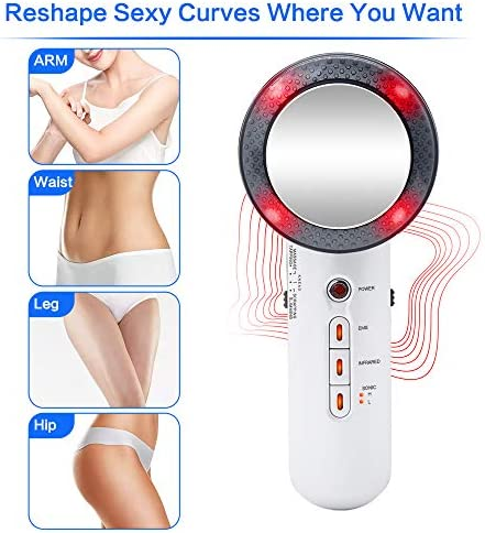 EMS Sliming Massager for Body Belly Massager Machine Muscle Massage Skin Tighten and Reduce Stria Gravidarum 3 in 1 Infrared Beauty Device for Women 6