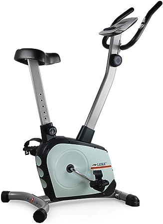 Bicicleta estática Bicicleta giratoria Bicicleta de Ejercicio con Control magnético Ultra silenciosa Bicicleta Interior Ejercicio Bicicleta Deportiva (Color : Blue, Size : 85 * 54 * 122cm): Amazon.es: Hogar