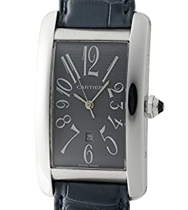 Cartier Tank Americaine automatic-self-wind mens Watch W2605229 (Certified Pre-owned)