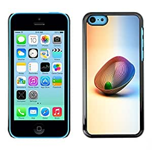 GagaDesign Phone Accessories: Hard Case Cover for Apple iPhone 5C - Abstract 3D