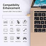 Syntech USB C to USB Adapter (2 Pack), Thunderbolt 3 to USB 3.0 Adapter Compatible with MacBook Pro 2019 and Before…