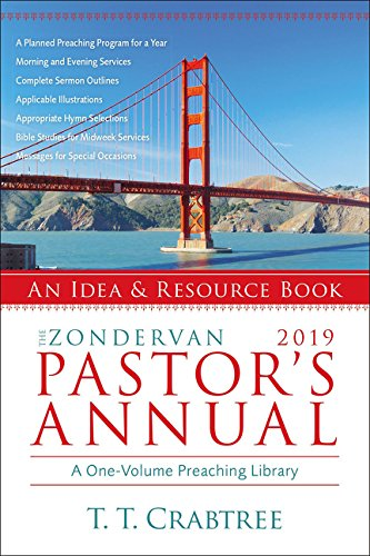 The Zondervan 2019 Pastor's Annual: An Idea and Resource Book