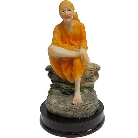 Shirdi Shri Sai Baba Miracles Statue Figure Sculpture Murti