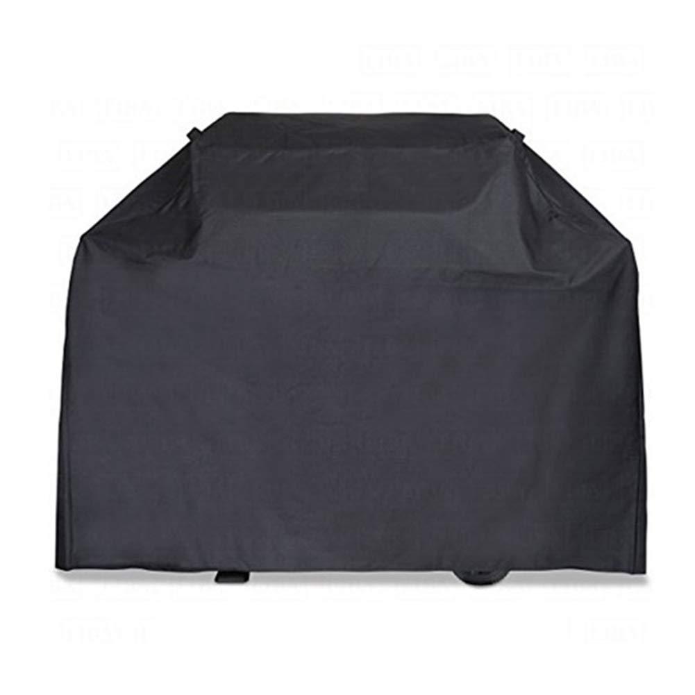 Copertura Copriscarpe per Esterni Grande in Tela di Oxford, Mobile da Giardino per tavoli e sedie da Esterno, Resistente all'Acqua, Nera (Dimensioni   162  61  122CM)