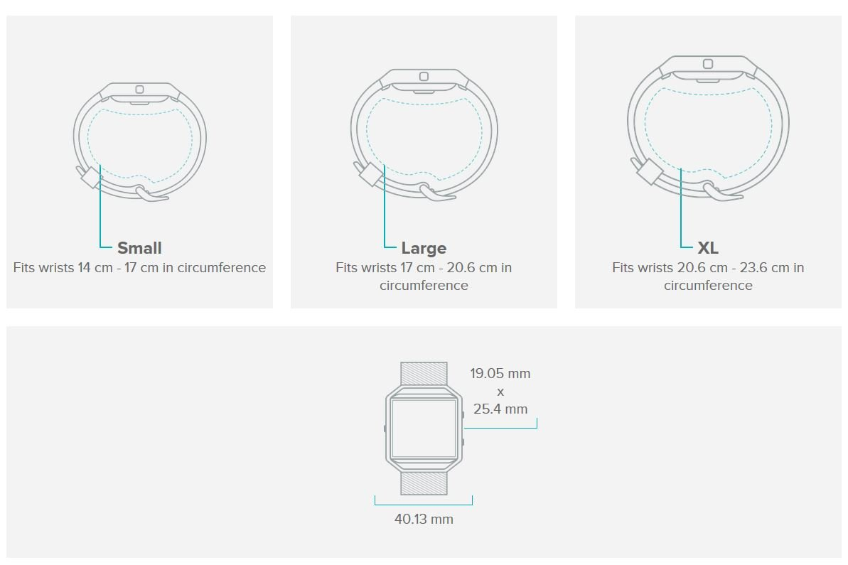 Fitbit Blaze Smart Fitness Watch, Black, Silver, Large (US Version) by Fitbit (Image #8)