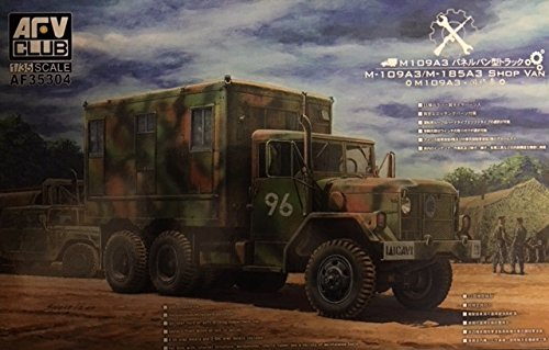 Van Internal (AFV Club 1/35 M109A3 VAN SHOP (Van body with internal structure) AF35304)