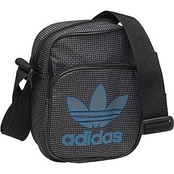 Negro Trébol Hombre Mini Adidas Artículos Bolso Pequeño Originals OPwkTXuZi
