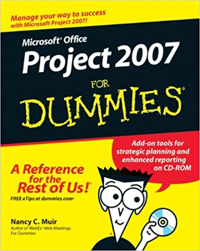 Pdf] microsoft office project 2007 for dummies | free ebooks.