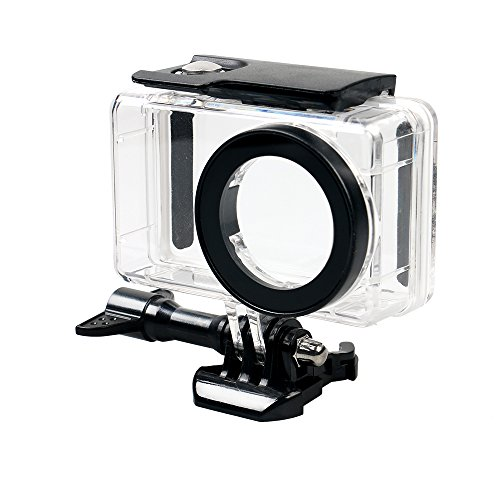 TELESIN 45m Waterproof Housing Case Protective Underwater Diving Shoot Box for Xiaomi Mijia 4K Mini Action Camera