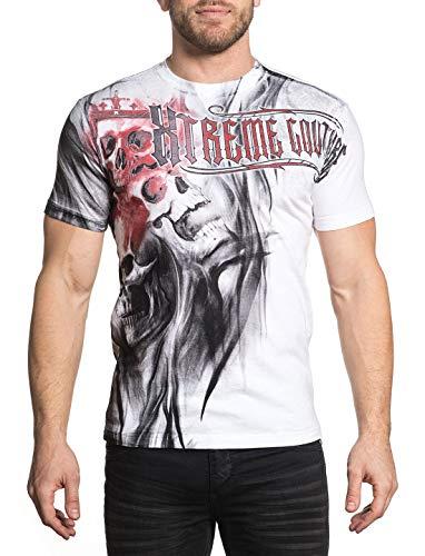 - Xtreme Couture Men's Ravenous Tee Shirt White Medium