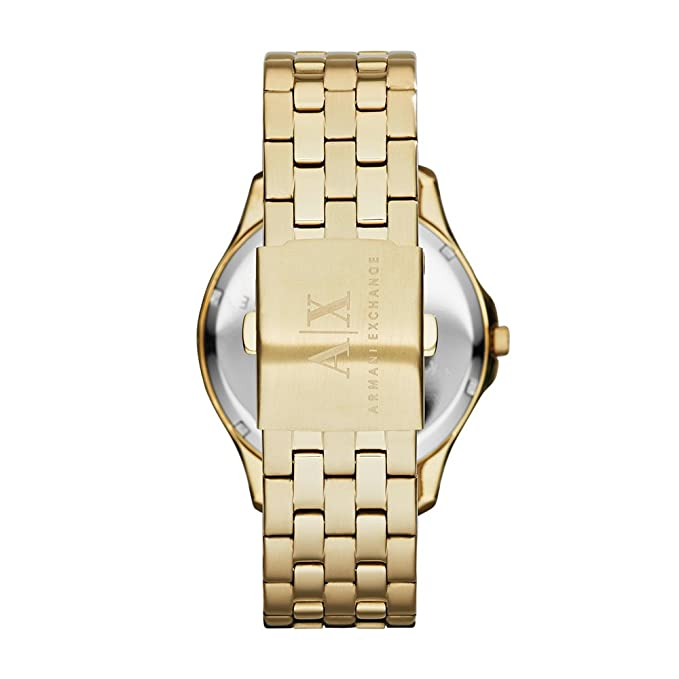 20be78891 Amazon.com  Armani Exchange Men s AX2145 Gold Watch  Armani Exchange   Watches