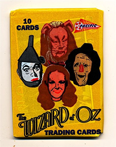 1990 Wizard of Oz unopened wax pack trading cards non-sport movie cards ()