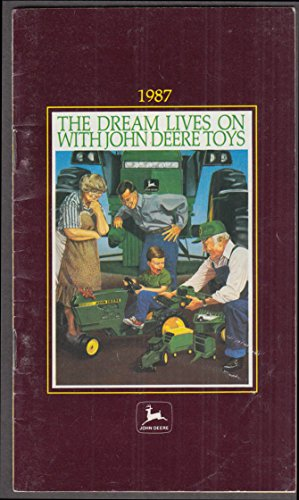 Ertl John Deere 1/16 & 1/64 scale Toys Catalog 1987