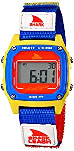 Freestyle Unisex 102243 Shark Fast Strap Retro 80's Digital Blue and Yellow Watch