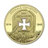 iron cross medal - Limited Edition WW2 .999 Gold Plated