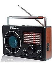 Rádio AM/FM/SW1-9 Com 11 Bandas Entrada Pendrive Cartão de Memória LE-609