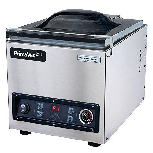Hamilton Beach HVC254 Countertop Vacuum Packaging Machine w/ 10
