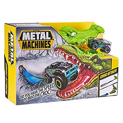 ZURU Metal Machines Crocodile Mini Racing Car Toy Track Set: Toys & Games