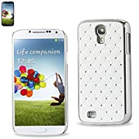 Reiko Diamond Protector Cover for Samsung Galaxy S4 - Non-Retail Packaging - White