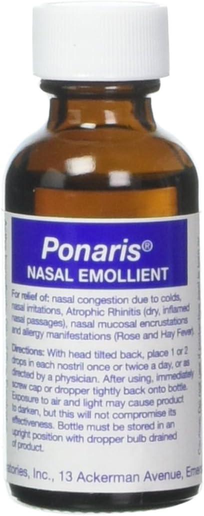 Ponaris Nasal Emolient, 1 oz: Health & Personal Care